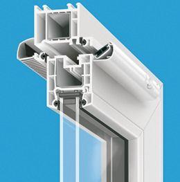 Nawiewniki powietrza ciśnieniowe SIMPRESS okno pcv Brevis