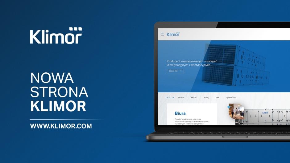 KLIMOR rusza z nową stroną internetową