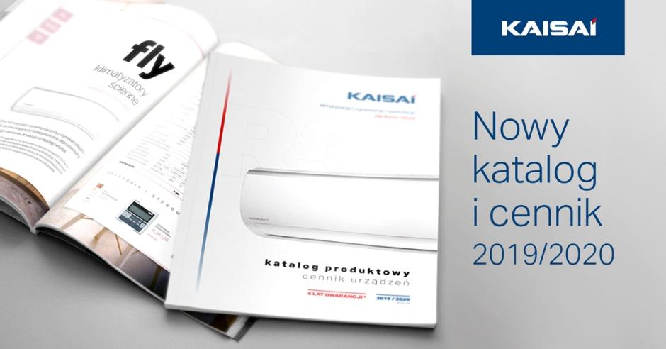 Nowy cennik i katalog produktowy KAISAI 2019/2020