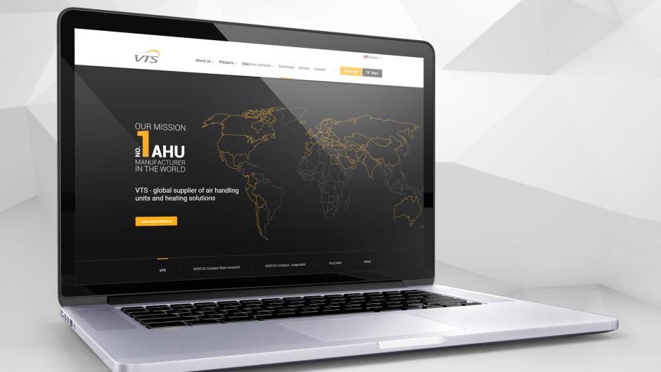 Nowy internetowy wizerunek VTS zwieńczeniem kilkuletniego procesu globalnego rebrandingu Grupy
