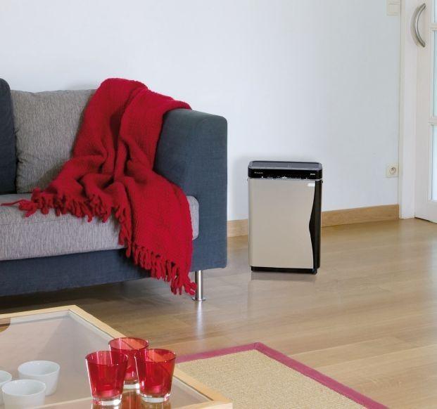 Oczyszczanie i nawilżanie powietrza w jednym urządzeniu
