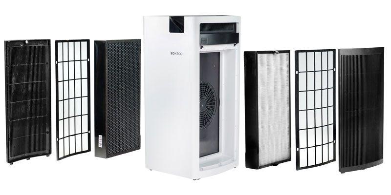 Oczyszczacz powietrza - wymiana filtrów