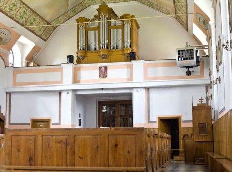 Parafia św. Stanisława BM Nowa Wieś1 - ogrzewanie kościoła nagrzewnicą