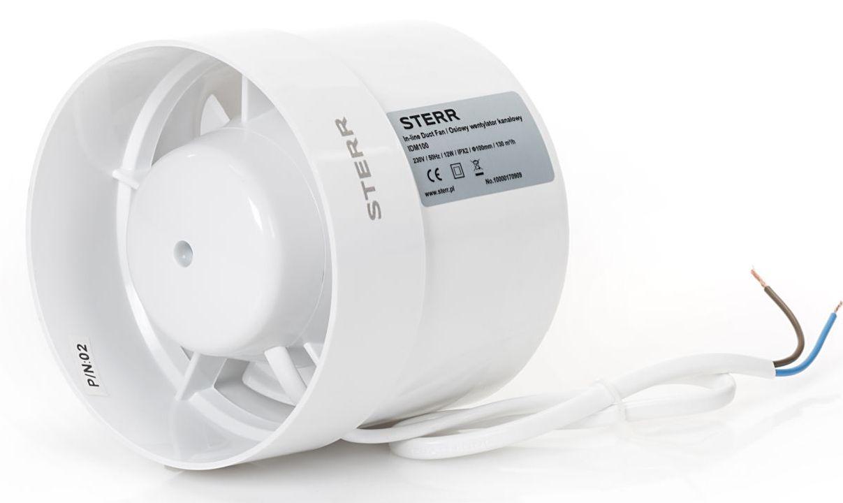 Osiowy wentylator kanałowy IDM100 od STERR