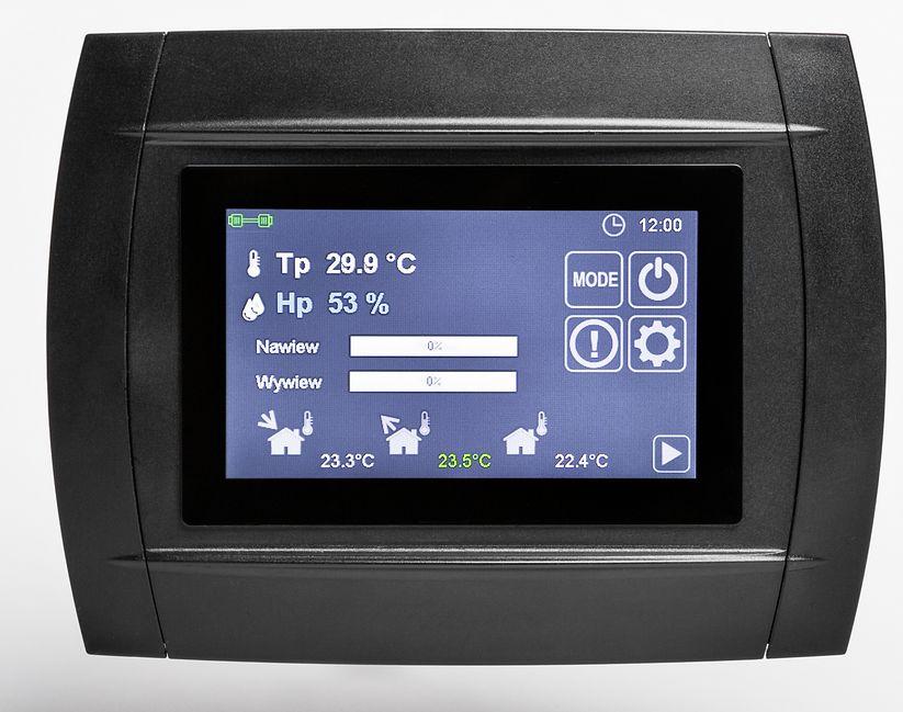 Dasko - oszczędności w użytkowaniu rekuperacji można osiągnąć stosując dodatkową automatykę sterującą