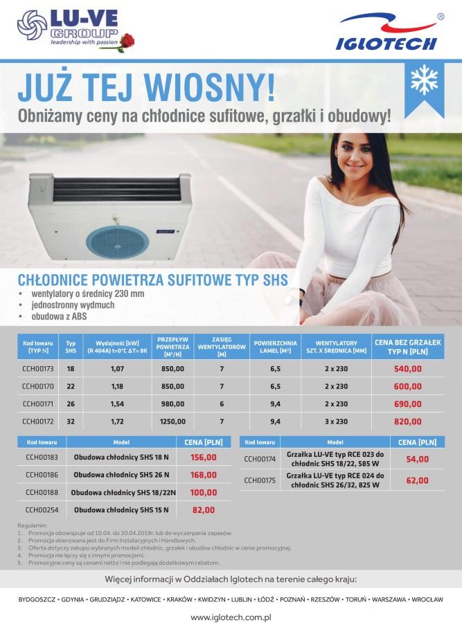 promocja chłodnic sufitowych LU-VE Group