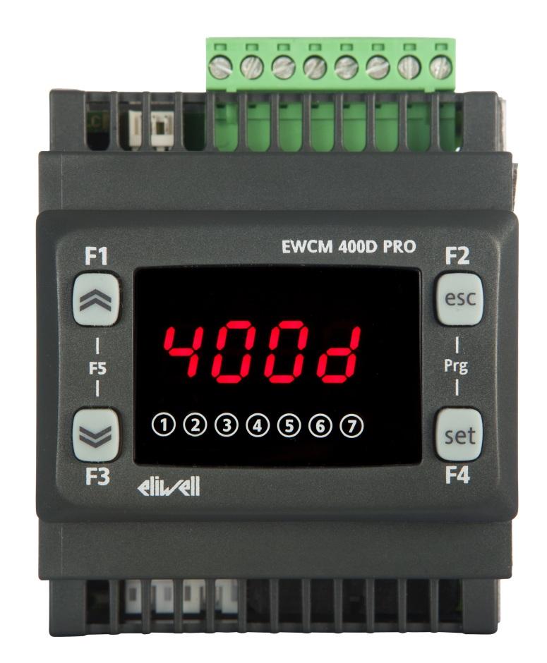 regulatory szynowe do małych zestawów sprężarkowych EWCM 455D