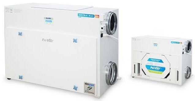 Rekuperator MISTRAL MAX-S 800 EC