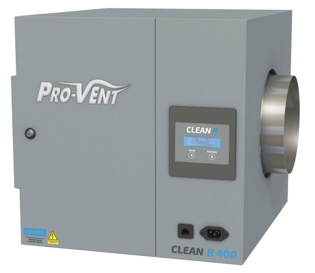 Innowacyjny filtr antysmogowy CLEAN R firmy PRO-VENT