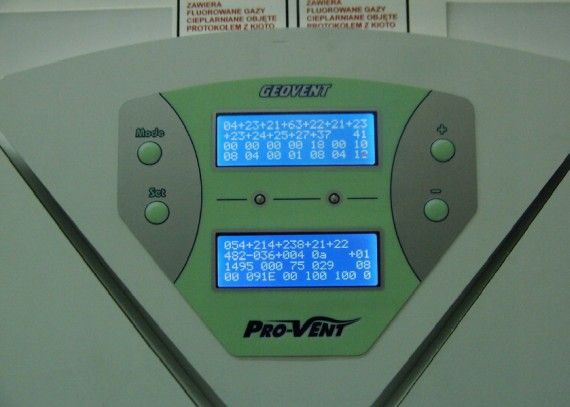 Pro-Vent - automatyka sterująca