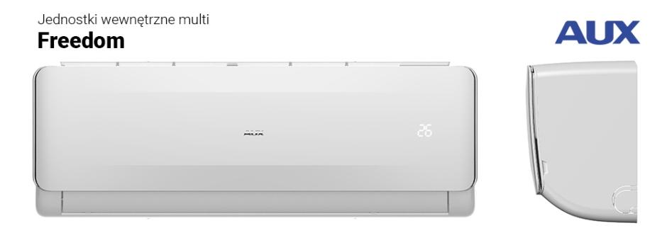 Klimatyzatory komercyjne split i systemy multi split AUX ? nowoczesne, efektywne i energooszczędne