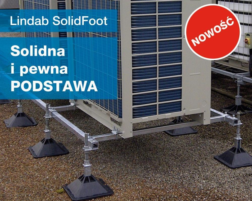 Lindab SolidFoot do montażu urządzeń HVACR
