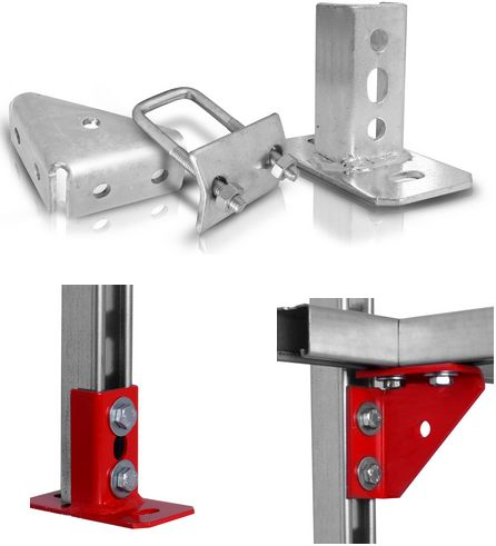 System montażu wentylacji STRUT