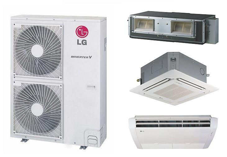 Komercyjne układy klimatyzacyjne LG