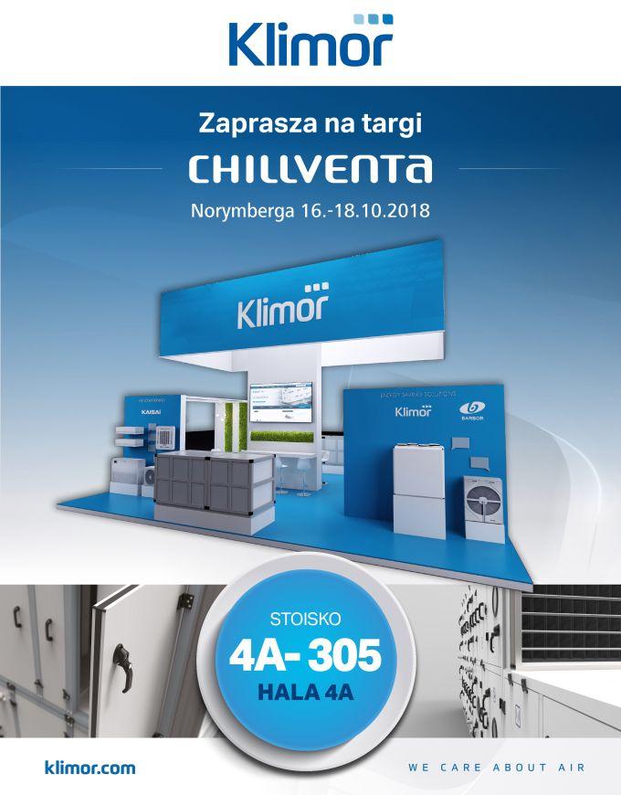 Klimor na międzynarodowych targach Chillventa 2018