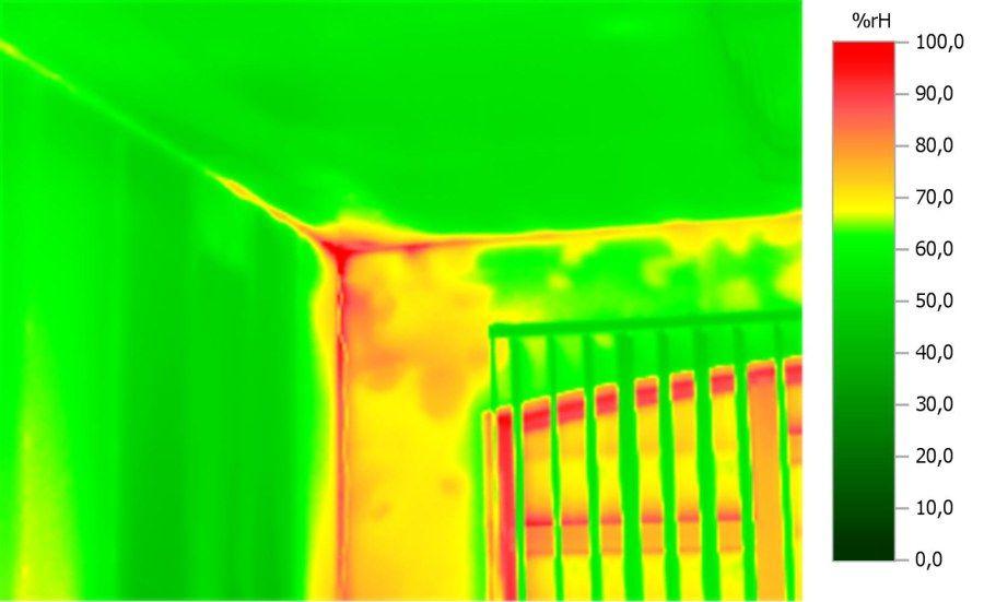 Termowizja - lokalizacja miejsc uciekania ciepła przez wentylację