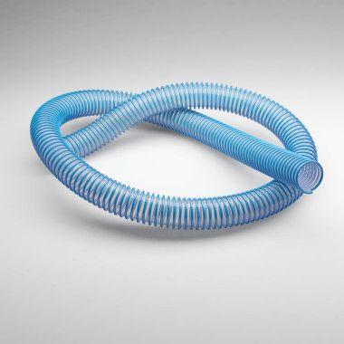 Wąż foliowy - trudnopalny wg DIN 4102 B1 odporny na zgniatanie