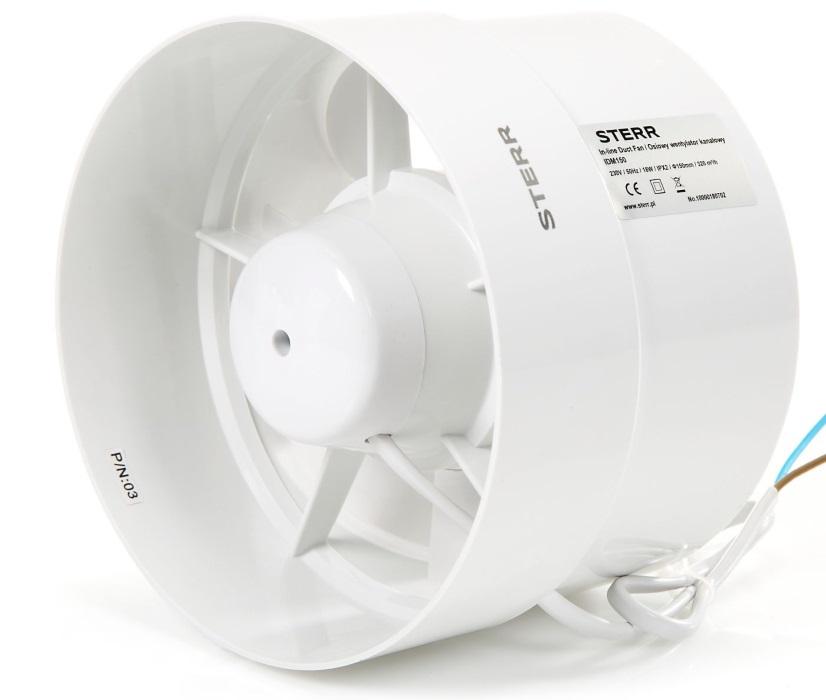 IDM150 - wentylator kanałowy STERR