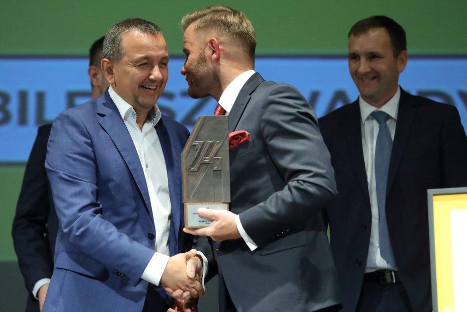 Wręczenie nagrody Gryfa Gospodarczego