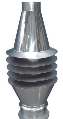 Uniwersal - Wywietrznik Zefir na spaliny z wylotem otwartym