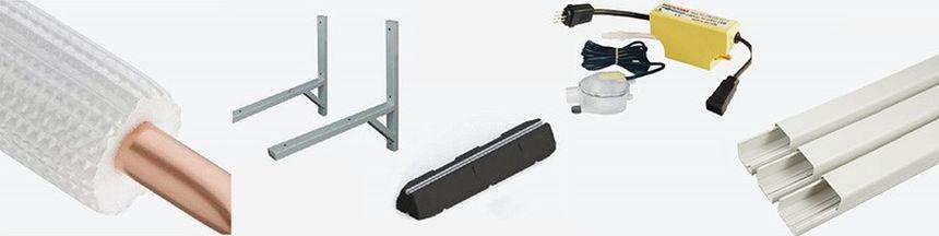 Kupując klimatyzatory AUX, otrzymujesz specjalną ofertę na akcesoria montażowe.