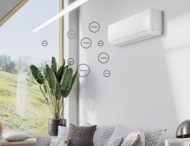 3 Najważniejsze funkcje klimatyzatora - wbudowany jonizator powietrza