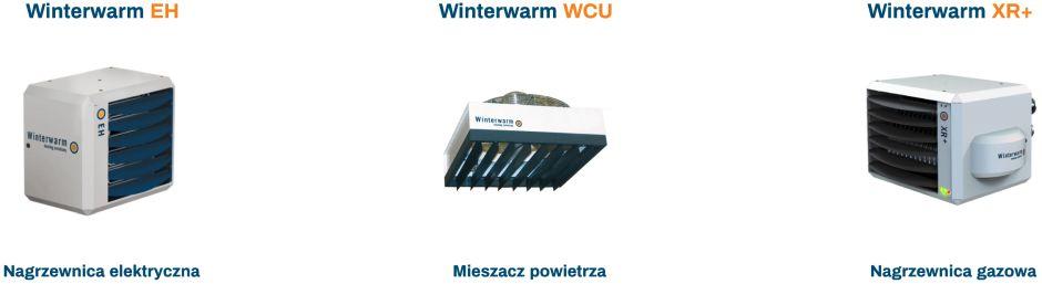 Nowość na rynku - nagrzewnice elektryczne Winterwarm EH