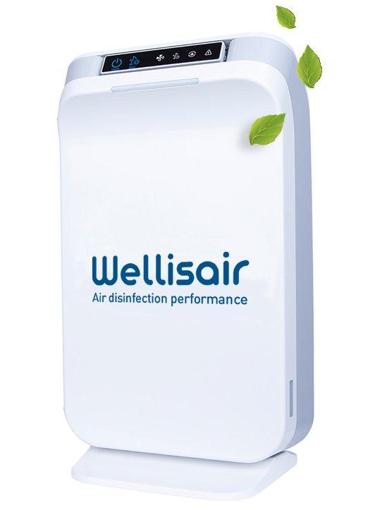 Wellisair - dezynfekujący oczyszczacz powietrza i powierzchni