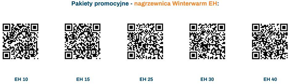 Pakiety promocyjne - nagrzewnice elektryczne Winterwarm EH