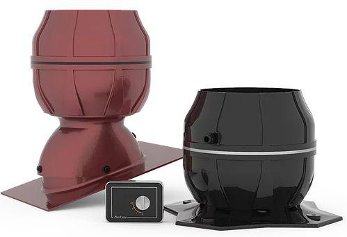 Cichobieżny wentylator dachowy do okapów kuchennych Vero-150